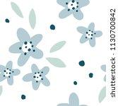 flower simple minimalistic... | Shutterstock .eps vector #1130700842