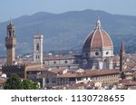 view of florence from bardini... | Shutterstock . vector #1130728655