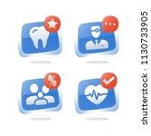 family doctor medical service ... | Shutterstock .eps vector #1130733905
