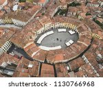 amphitheater square in lucca... | Shutterstock . vector #1130766968
