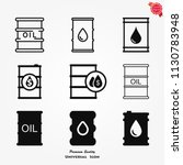 oil barrel vector icon ... | Shutterstock .eps vector #1130783948