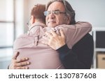 Son Hugs His Own Father