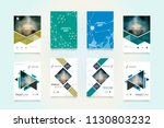 business abstract vector... | Shutterstock .eps vector #1130803232