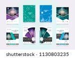 business abstract vector... | Shutterstock .eps vector #1130803235