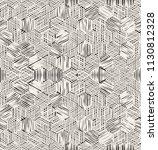 vector seamless pattern.... | Shutterstock .eps vector #1130812328