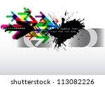 vector composition | Shutterstock .eps vector #113082226