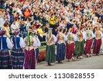 kaunas  lithuania   june 30 ... | Shutterstock . vector #1130828555