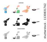 equipment  appliances ... | Shutterstock .eps vector #1130831762