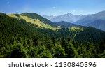 turkey  rize  pokut plateau ... | Shutterstock . vector #1130840396