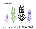 a set of vector illustrations... | Shutterstock .eps vector #1130842742