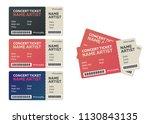 blank concert performance... | Shutterstock .eps vector #1130843135