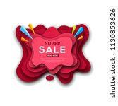 banner template for special... | Shutterstock .eps vector #1130853626