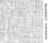 distressed linen texture.... | Shutterstock .eps vector #1130859788