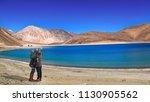 romantic couple click selfie...   Shutterstock . vector #1130905562