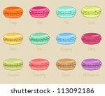 macaroon | Shutterstock .eps vector #113092186