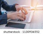 online searching social... | Shutterstock . vector #1130936552