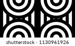 seamless pattern with circles... | Shutterstock .eps vector #1130961926