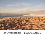 salar de atacama  in the... | Shutterstock . vector #1130962832