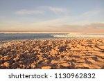 salar de atacama  in the... | Shutterstock . vector #1130962832
