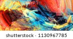 bright artistic splashes....   Shutterstock . vector #1130967785