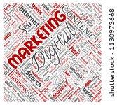 vector concept or conceptual... | Shutterstock .eps vector #1130973668