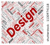 vector conceptual creativity... | Shutterstock .eps vector #1130974118