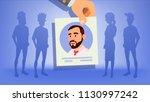 human recruitment. man....   Shutterstock . vector #1130997242