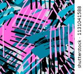 urban seamless funky geometric... | Shutterstock .eps vector #1131041588