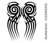 tattoos art ideas swirl  curl...   Shutterstock .eps vector #1131062522