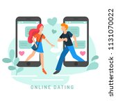 vector illustration for online... | Shutterstock .eps vector #1131070022