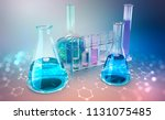 medical research. microbiology. ... | Shutterstock . vector #1131075485