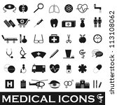 medical icons | Shutterstock .eps vector #113108062
