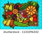 cartoon illustration of... | Shutterstock . vector #1131096332