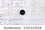 glitch backgrounds set.... | Shutterstock .eps vector #1131114218