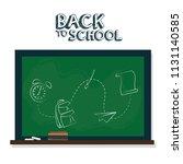 back to school | Shutterstock .eps vector #1131140585