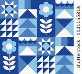 white  blue  navy geometric...   Shutterstock .eps vector #1131155816