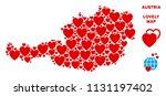 valentine austria map... | Shutterstock .eps vector #1131197402