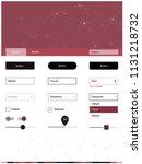 dark pink  red vector material...