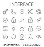 interface related vector icon...