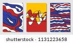 cover design templates set in... | Shutterstock .eps vector #1131223658