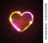 valentines day background. pink ...   Shutterstock . vector #1131232058