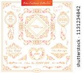 vector boho  ethnic style...   Shutterstock .eps vector #1131234842