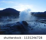 a group of tourists experience... | Shutterstock . vector #1131246728