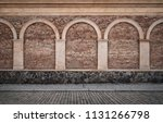 old empty street background | Shutterstock . vector #1131266798