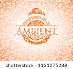 ambient abstract emblem ... | Shutterstock .eps vector #1131275288