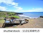 hana  hawaii   usa   march 28... | Shutterstock . vector #1131308915