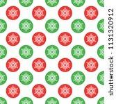 single vector new year seamless ... | Shutterstock .eps vector #1131320912