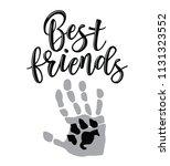 friendship day lettering....   Shutterstock .eps vector #1131323552