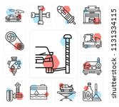 set of 13 simple editable icons ...   Shutterstock .eps vector #1131334115