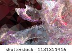 low poly mosaic background.... | Shutterstock .eps vector #1131351416